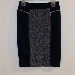 Michael Kors pencil skirt with zippers